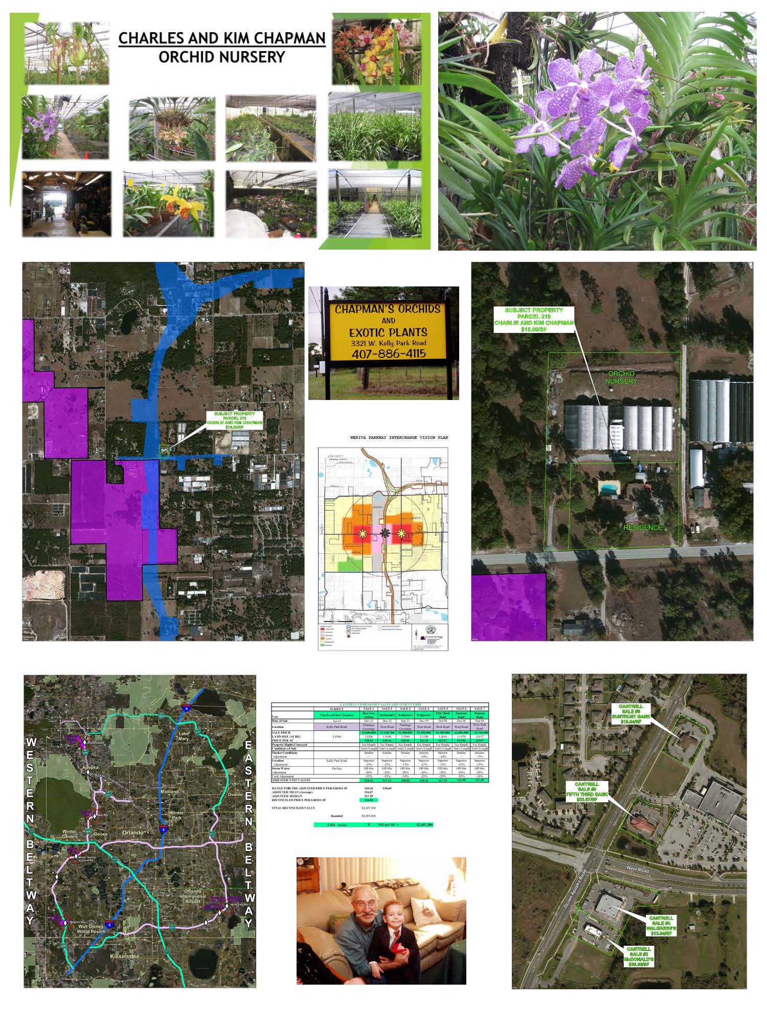 CFX Wekiva Parkway: New Interchange Taking Residence and Greenhouses (Orange County, FL)