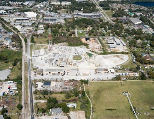 FDOT Road Widening: Concrete Batch and Block Plant with Regional Office (Orange County, FL)