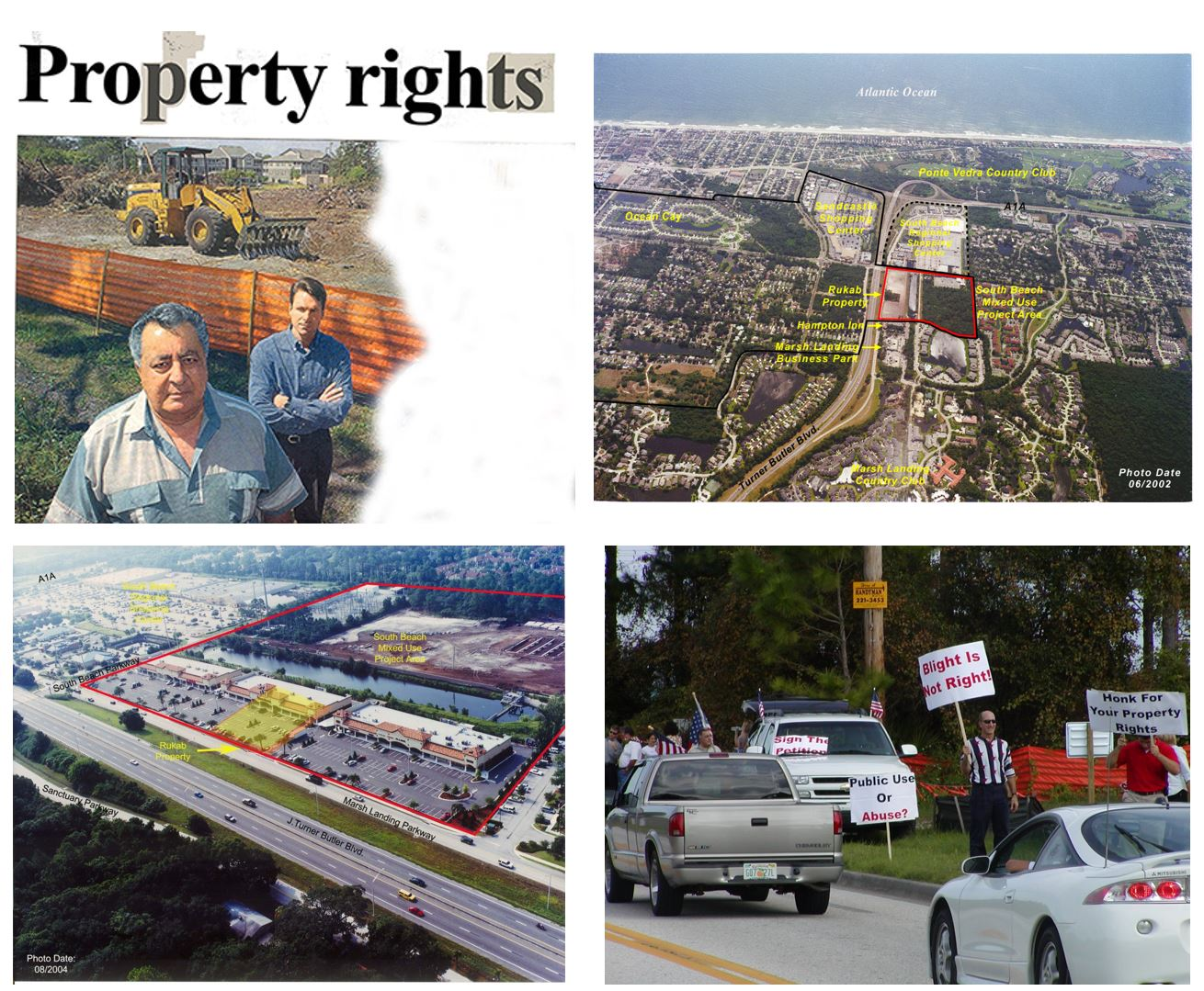 City of Jacksonville Beach Community Redevelopment: Owners Tony and Aida Rukab (Duval County, FL)