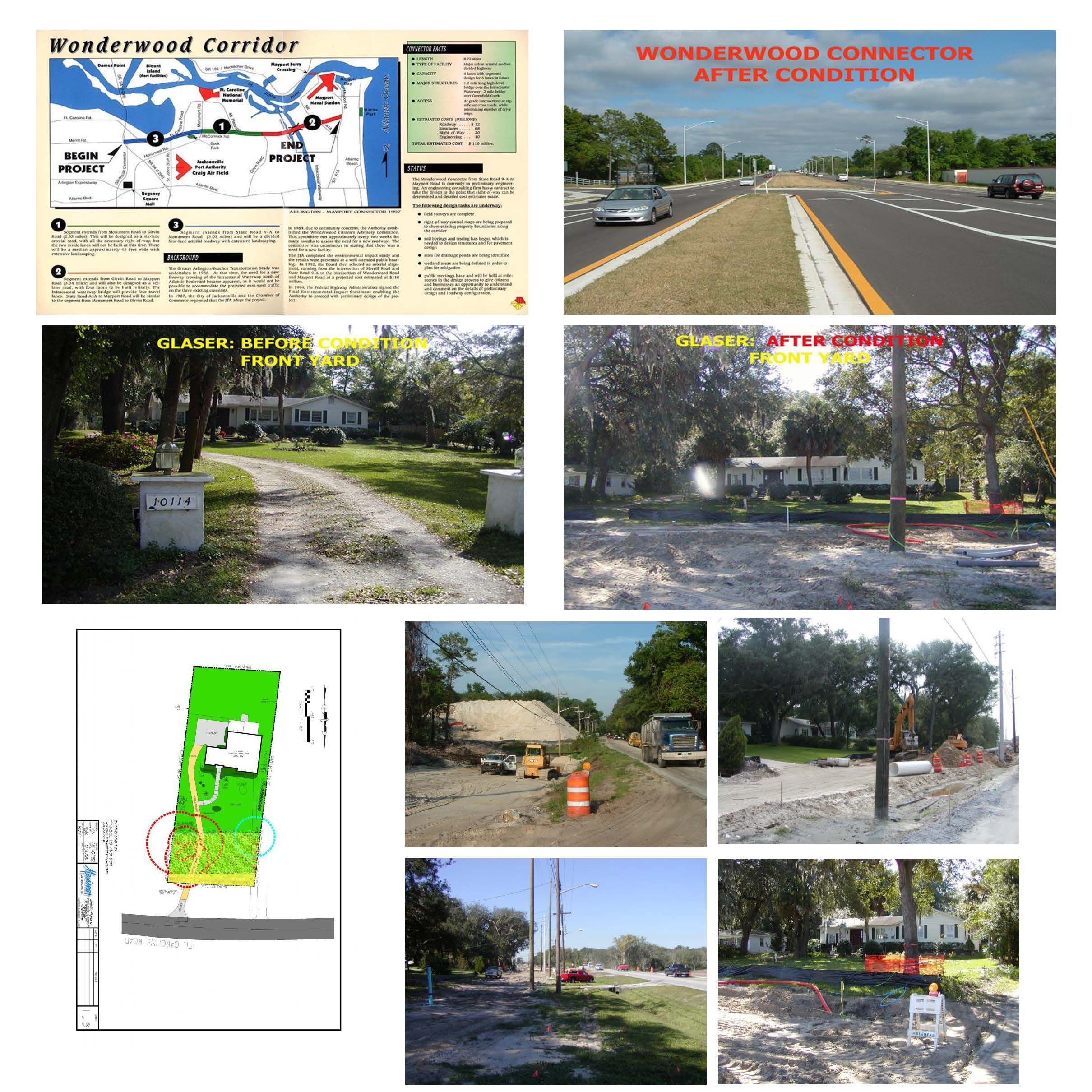 JTA Wonderwood Connector: Residential Front Yards (Duval County, FL)